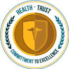 Health and Trust; Commitment to Excellence seal