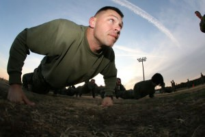 picture of man doing pushups