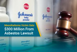 Johnson & Johnson baby powder in lawsuit