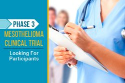 mesothelioma phase 3 clinical trial