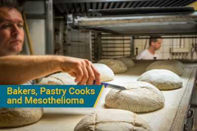 asbestos in baking and pastry cooking causes mesothelioma