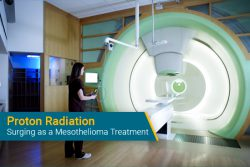 using proton radiation for mesothelioma