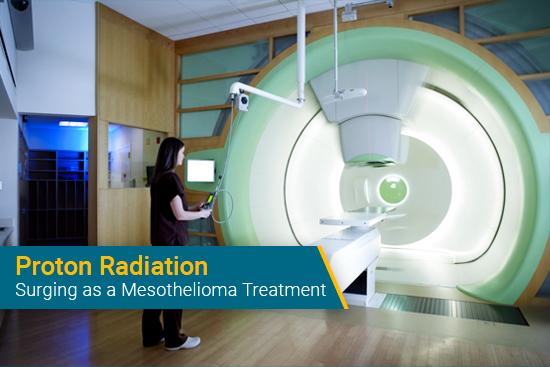 using proton radiation for mesothelioma