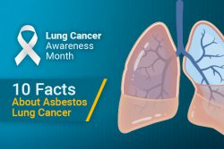 facts about asbestos lung cancer for Lung Cancer Awareness Month 2019