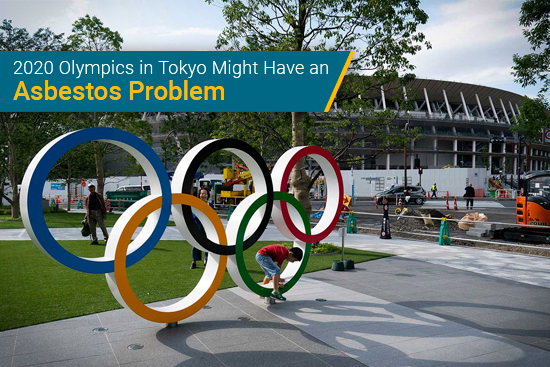 Olympics in Tokyo with asbestos