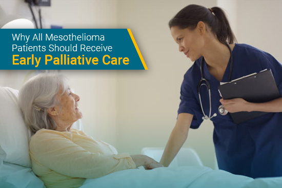 patient receives palliative care for mesothelioma