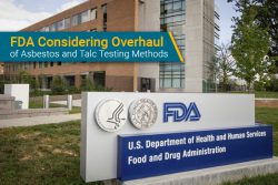 FDA overhauling asbestos in talc testing