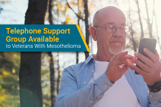 mesothelioma patient uses free telephone support