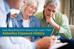 asbestos exposure history