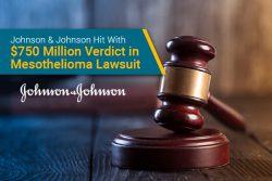 $750 million verdict in mesothelioma lawsuit