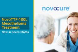 NovoTTF-100L for pleural mesothelioma