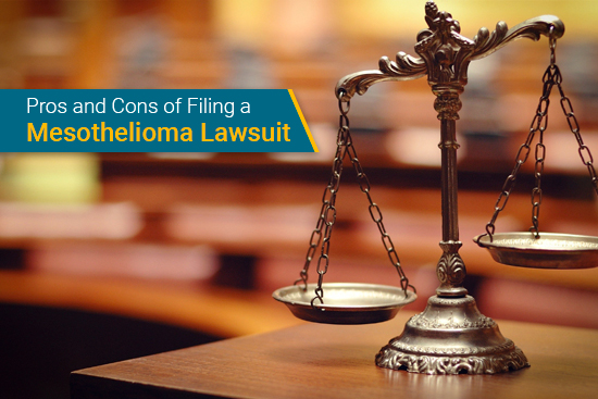 pros and cons of a mesothelioma lawsuit