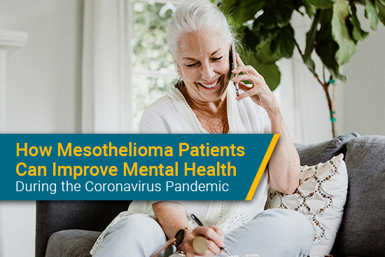 how mesothelioma patients can improve mental health during coronavirus