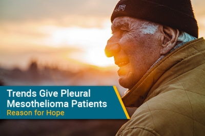 pleural mesothelioma survival improving