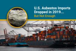 asbestos imports 2019