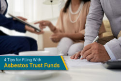 tips for using asbestos trust funds