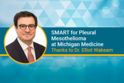 Dr. Elliot Wakeam brings SMART for pleural mesothelioma to Michigan Medicine cancer center
