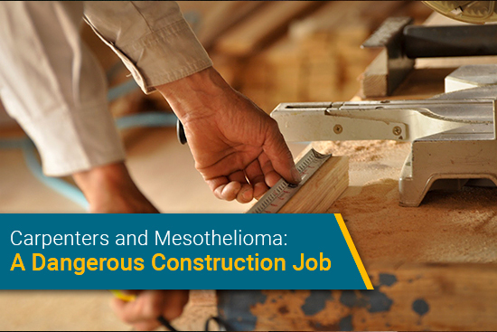 mesothelioma risk for carpenters and carpentry