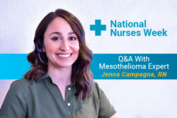 Mesothelioma Guide RN Jenna Campagna interview for National Nurses Week