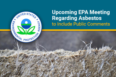 EPA meeting on draft risk evaluation of asbestos