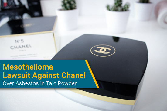 Asbestos in Chanel talc powder leads to mesothelioma lawsuit