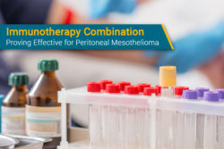 bevacizumab and atezolizumab for peritoneal mesothelioma in clinical trial