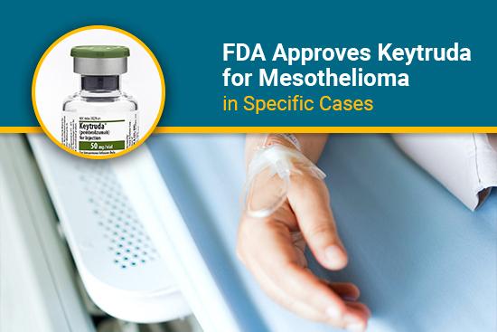 fda approves keytruda for mesothelioma