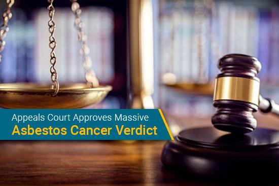 asbestos verdict supported in appeals court