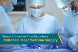 peritoneal mesothelioma surgery on patient