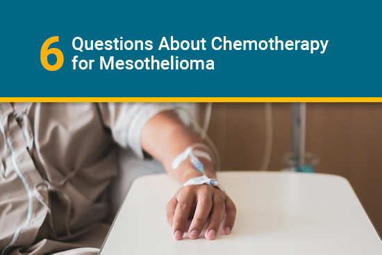 patient getting mesothelioma chemotherapy