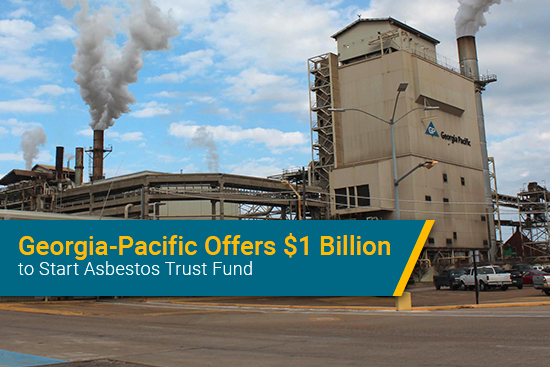 Georgia-Pacific asbestos trust fund funding amount
