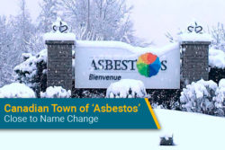 "Canada town called ""Asbestos"" changing name"