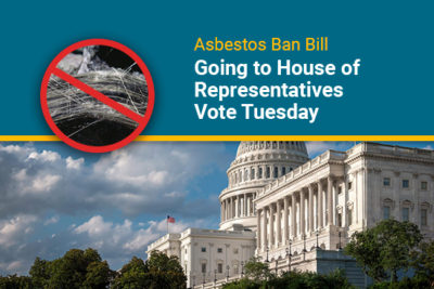 Asbestos bill going to House vote