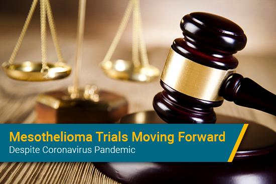 Mesothelioma trials continuing in coronavirus