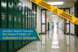 Asbestos in schools a problem globally