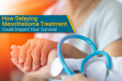 patient receives mesothelioma diagnosis news and weighs options for treatment