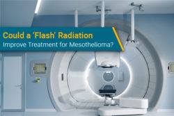 flash radiation therapy for mesothelioma