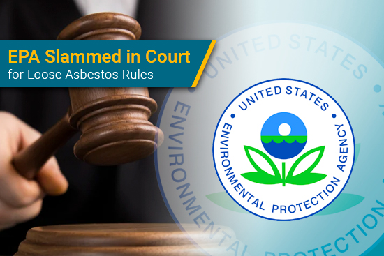 EPA in court over asbestos rules