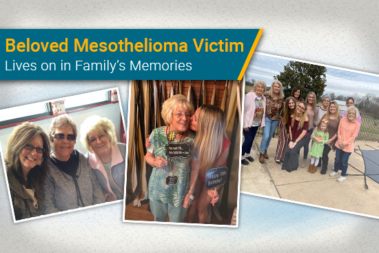 Mesothelioma victim Linda lives on in family's memories