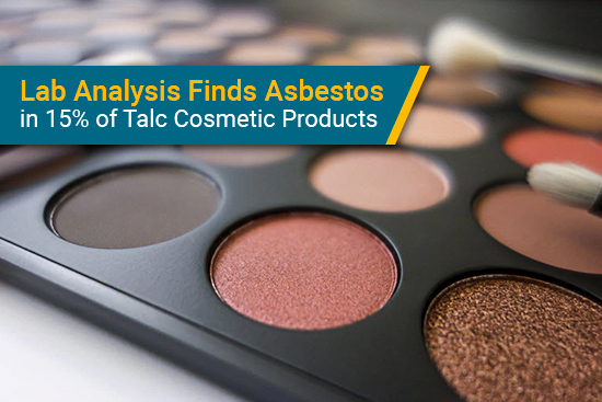 talc cosmetics may include asbestos