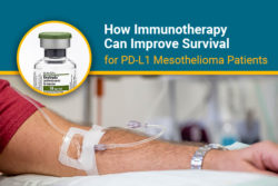 PL-L1 survival for mesothelioma and immunotherapy