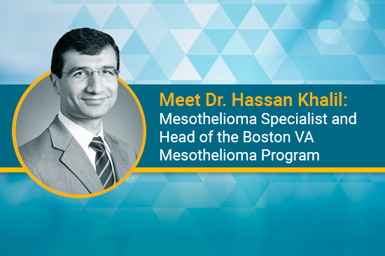 Dr. Hassan Khalil VA mesothelioma specialist Brigham and Women's Hospital and Boston VA