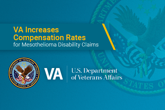 VA updates compensation rates for mesothelioma disability claims