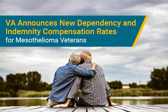 VA DIC rates increase for mesothelioma veterans survivors