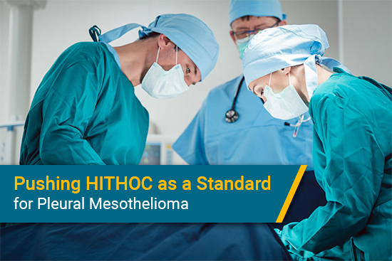 HITHOC used for pleural mesothelioma