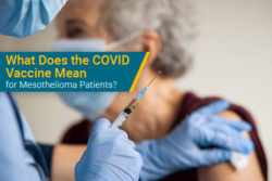 COVID-19 vaccine for mesothelioma patients