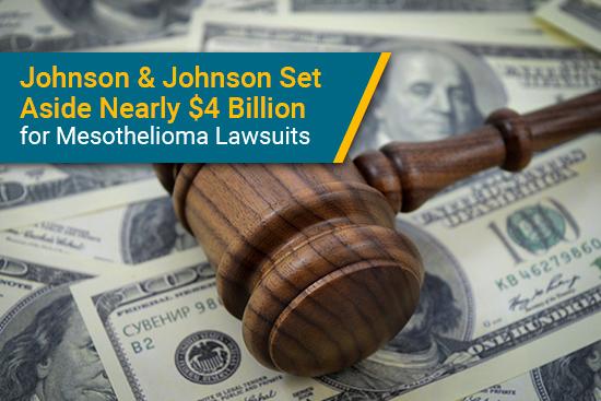 Johnson & Johnson sets aside billions for mesothelioma lawsuits