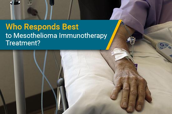 who responds to mesothelioma immunotherapy