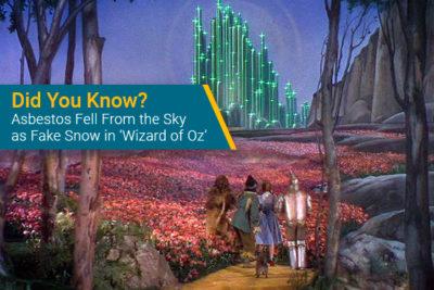 Wizard of Oz asbestos
