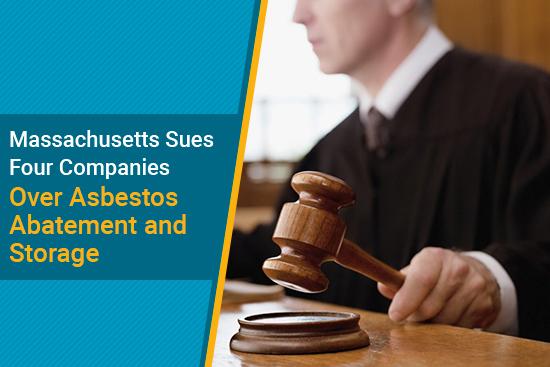 Massachusetts sues asbestos removal companies for mishandling asbestos